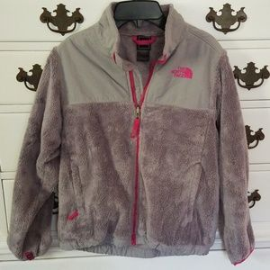 Girls North Face Osito Jacket Large